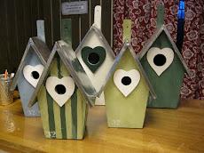 Fågelholkar, flera modeller