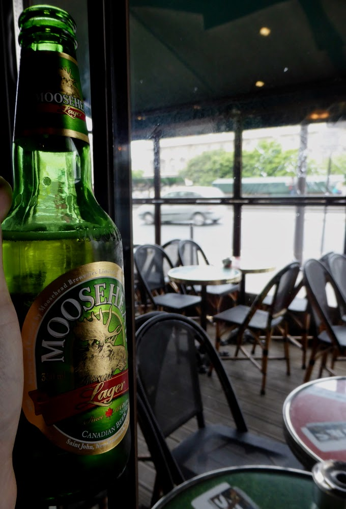 Canadian beer in Paris