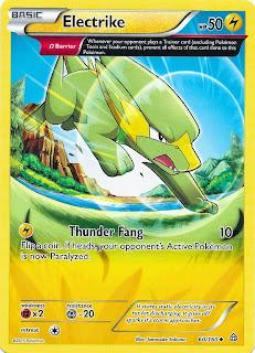 Electrike Primal Clash Pokemon Card