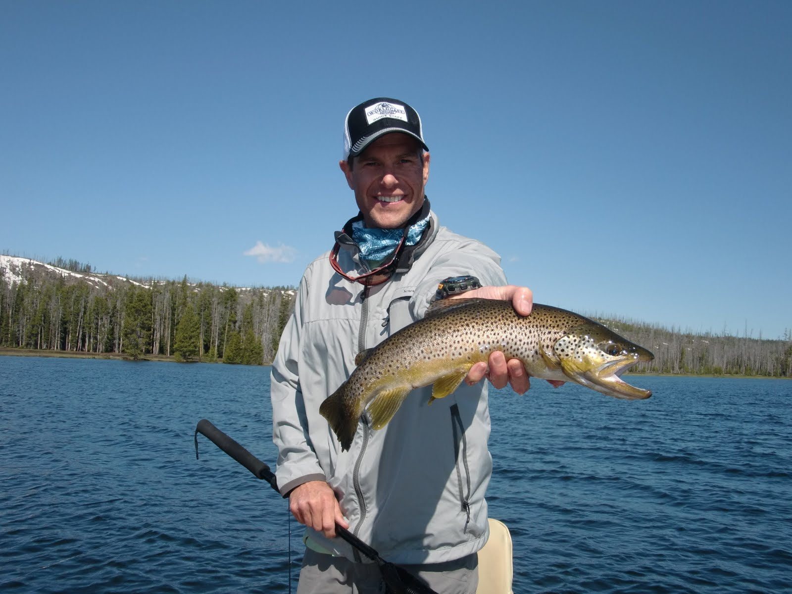 Jackson hole fly fishing blog july 2011 for Lake jackson fishing report