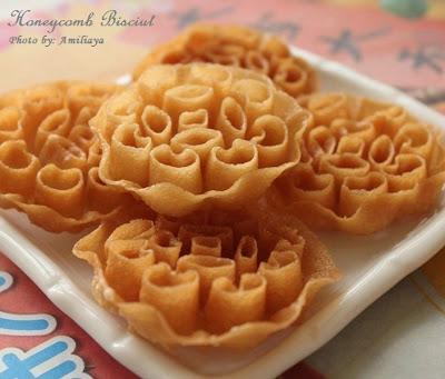 Honeycomb biscuit