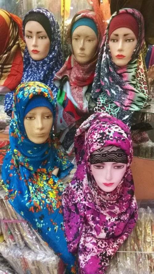 Jual Jilbab Azur Turkey