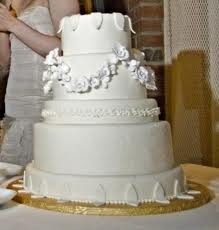 Martha Stewart White Wedding Cake