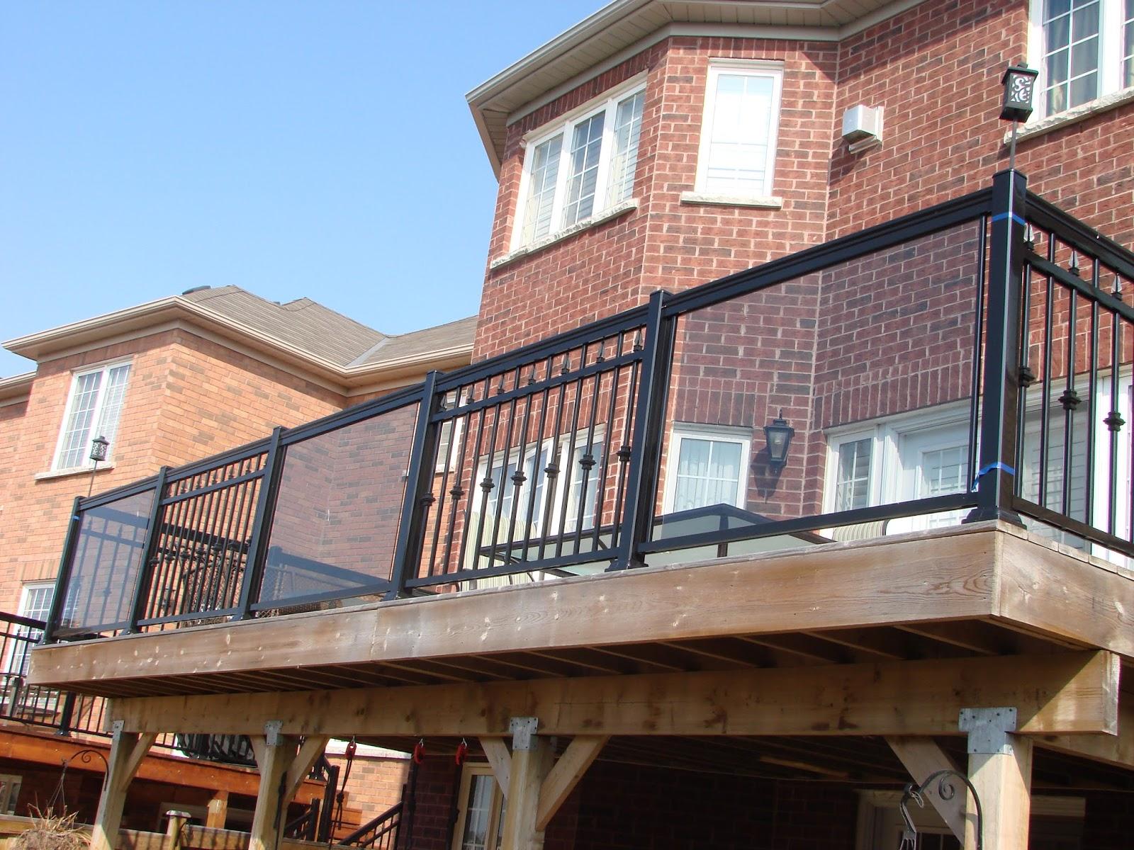 Glass Railings In Mississauga Brampton Vaughan