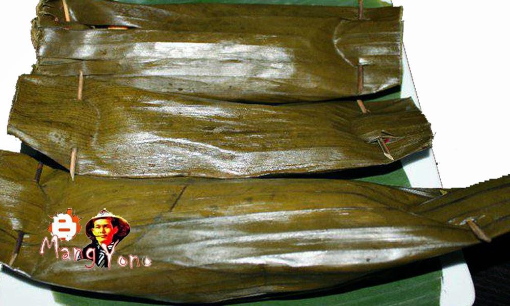 PepesLoto dari daun talas