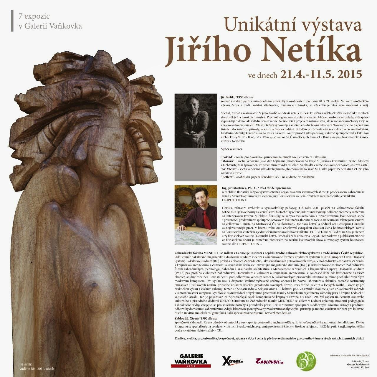 Výstava ve Vaňkovce, Brno