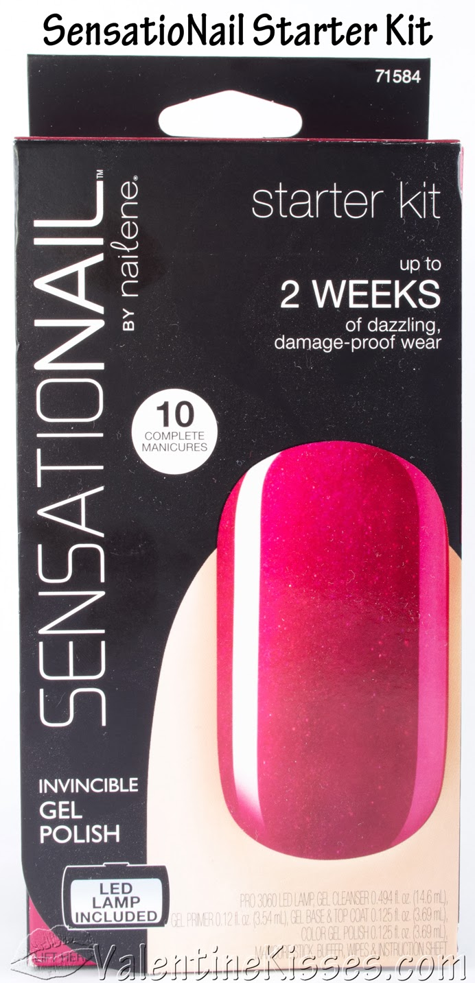 Valentine Kisses: SensatioNail Starter Kit - gel nail kit - pics ...