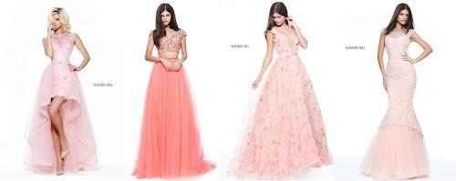Vestidos de Formatura I: Princesas Rose