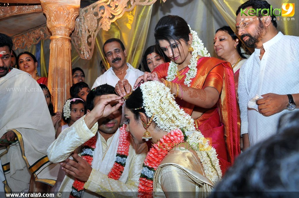 ... Indian Film Actress Photos: Samvritha Sunil Wedding/Marriage Photos