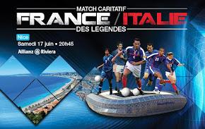 Francia-Italia match delle leggende
