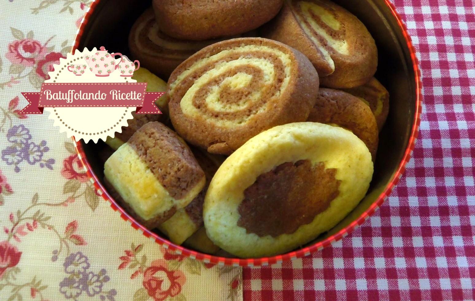 Biscotti Da Credenza Alice : Batuffolando ricette biscotti sablée bianchi e neri