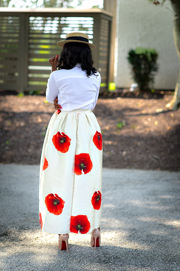 Chicwish maxi skirt