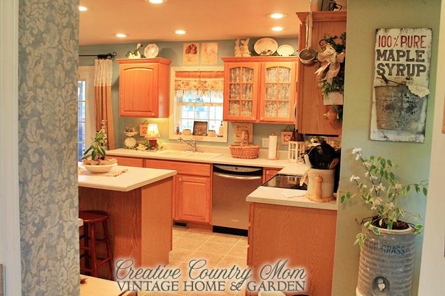 Vintage Style Decor New Cottage Kitchen Reveal
