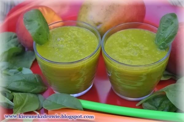 Koktajl brzoswiniowy z mango