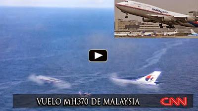 NOTI-URBANA - Se Confirma que el Vuelo MH370 cayó en la zona sur del Océano Índico