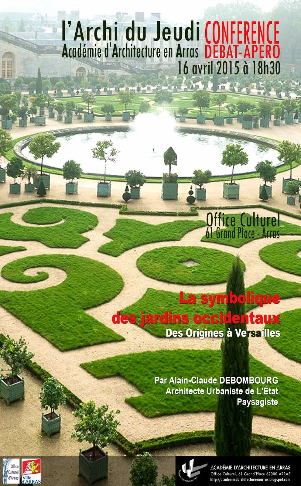 Acad mie d 39 architecture en arras for Architecte jardin versailles