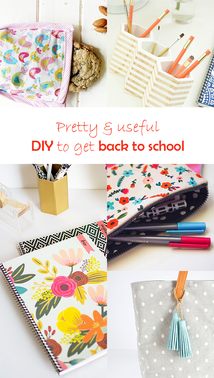 5 DIY to try # Back to school