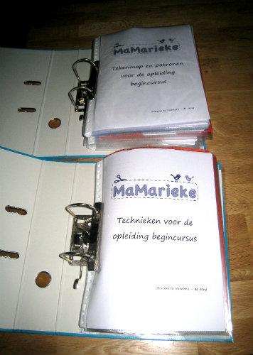 Teken- en techniekenmap