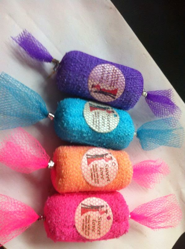 Candy Handkerchief Favor