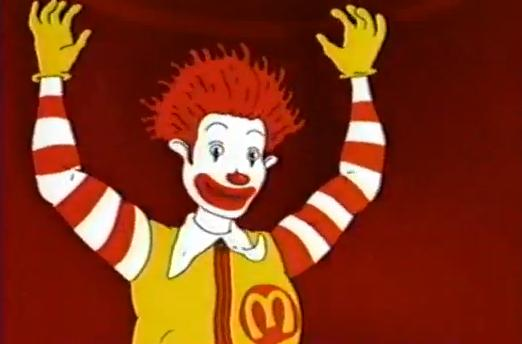 nothing but cartoons the wacky adventures of ronald mcdonald