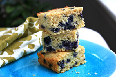 Blueberry cornbread is speedy to prepare, healthy and delicious.