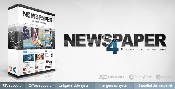 Newspaper Responsive Worspress Theme