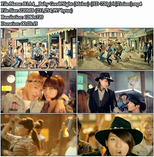 Download MV B1A4 - Baby Good Night ( ) (Melon HD 720p)