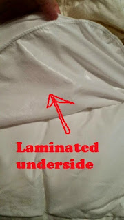 Comfiy Mattress Protector underside