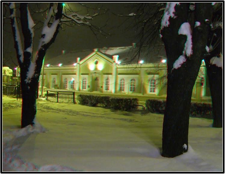 Zimska noć u Šapcu