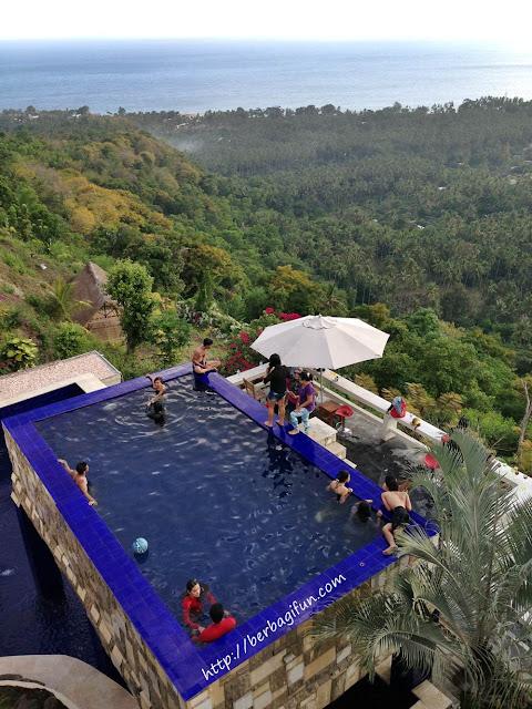 kolam renang villa rara