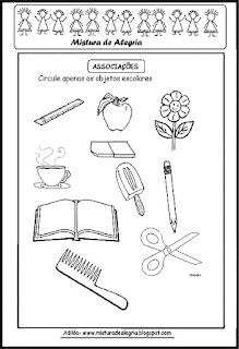 Projeto sobre volta às aulas
