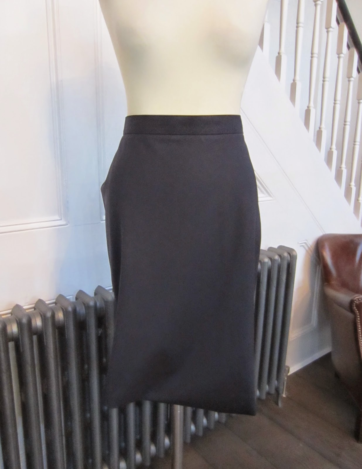 Vivienne Westwood Red Label Navy Blue Skirt