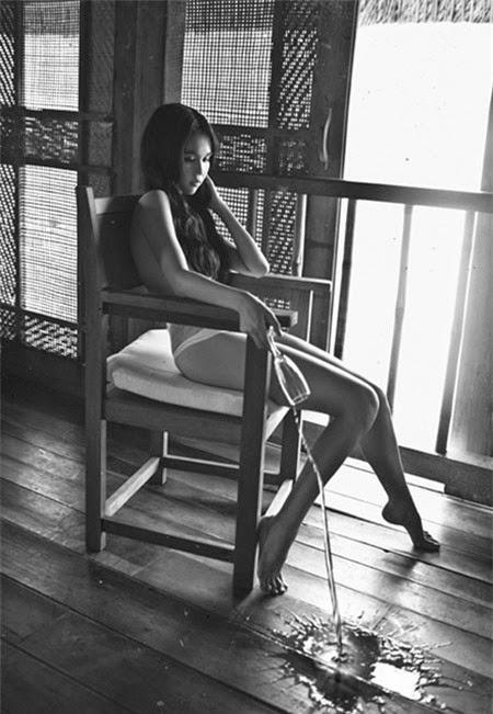 Album Ngọc Trinh sexy cuốn hút trong bộ ảnh mới nhất 2014, ảnh nude, vú to