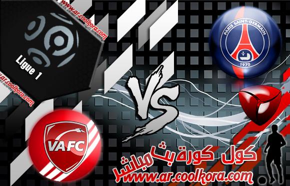 مشاهدة مباراة باريس سان جيرمان وفالينسيان بث مباشر 14-2-2014 الدوري الفرنسي PSG vs Valenciennes