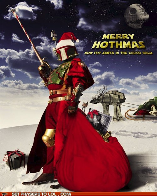 Kryptonian Warrior: A LITTLE MORE SCI-FI CHRISTMAS CHEER!!!!
