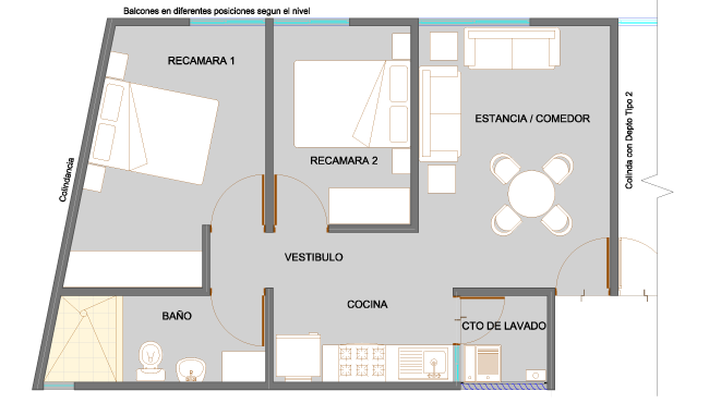 Planos de casas y plantas arquitect nicas de casas y for Dimensiones arquitectonicas