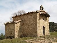 La façana de ponent de la capella de Sant Josep