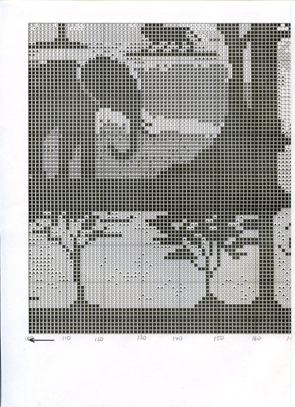 Схема вышивки килиманджаро 93