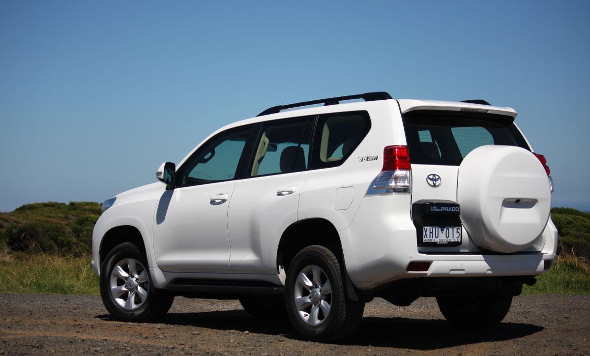 Toyota Prado 2012 New Car Girl