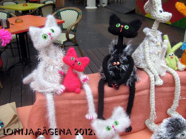 tamborēts kaķis, tamborēts zaķis