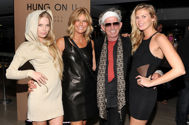 Like Mother, Like Daughter: Star Style: Patti Hansen ... Keith Richards Family