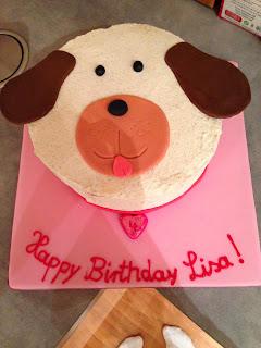 Geburtstagstorte, Fondanttorte, Torte, Geburtstag, Hund