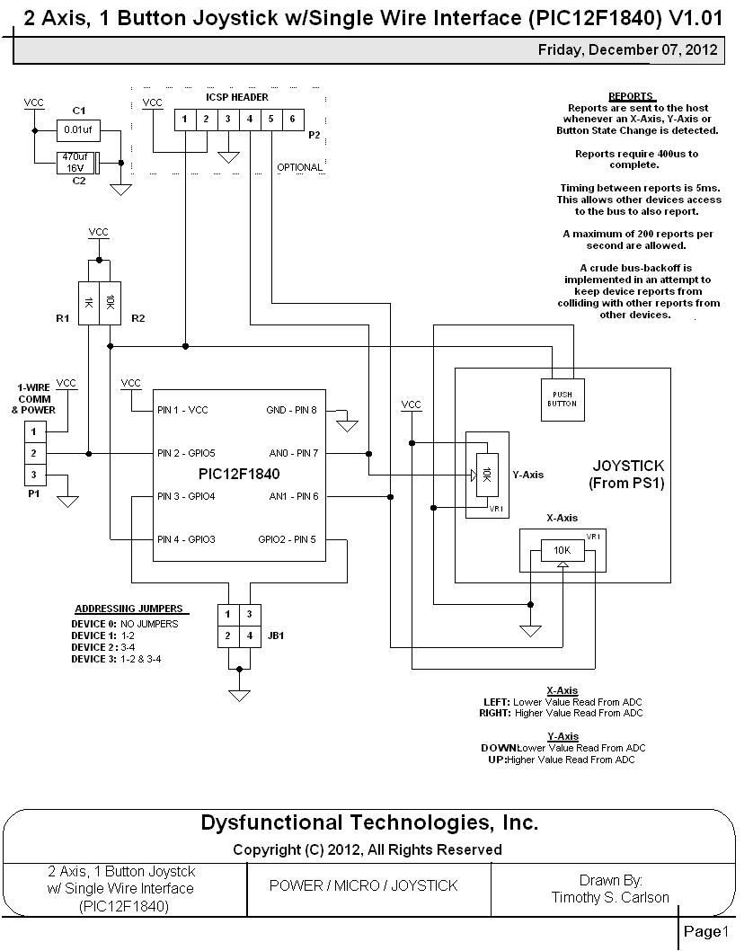 Ausgezeichnet Ps1 Joystick Schaltplan Zeitgenössisch - Elektrische ...