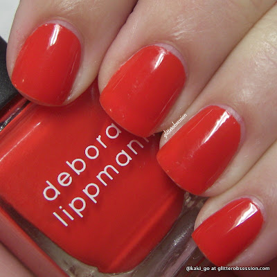 Deborah Lippmann Footloose swatch