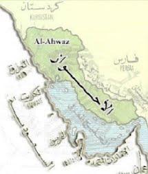 نقشه احواز