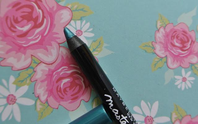 maybelline chromatics eyeliner turquoise vibe