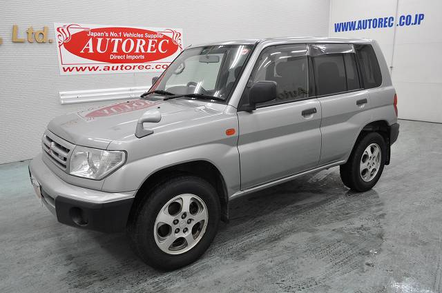 Japanese vehicles to the world 2000 mitsubishi pajero io 4wd to zimbabwe