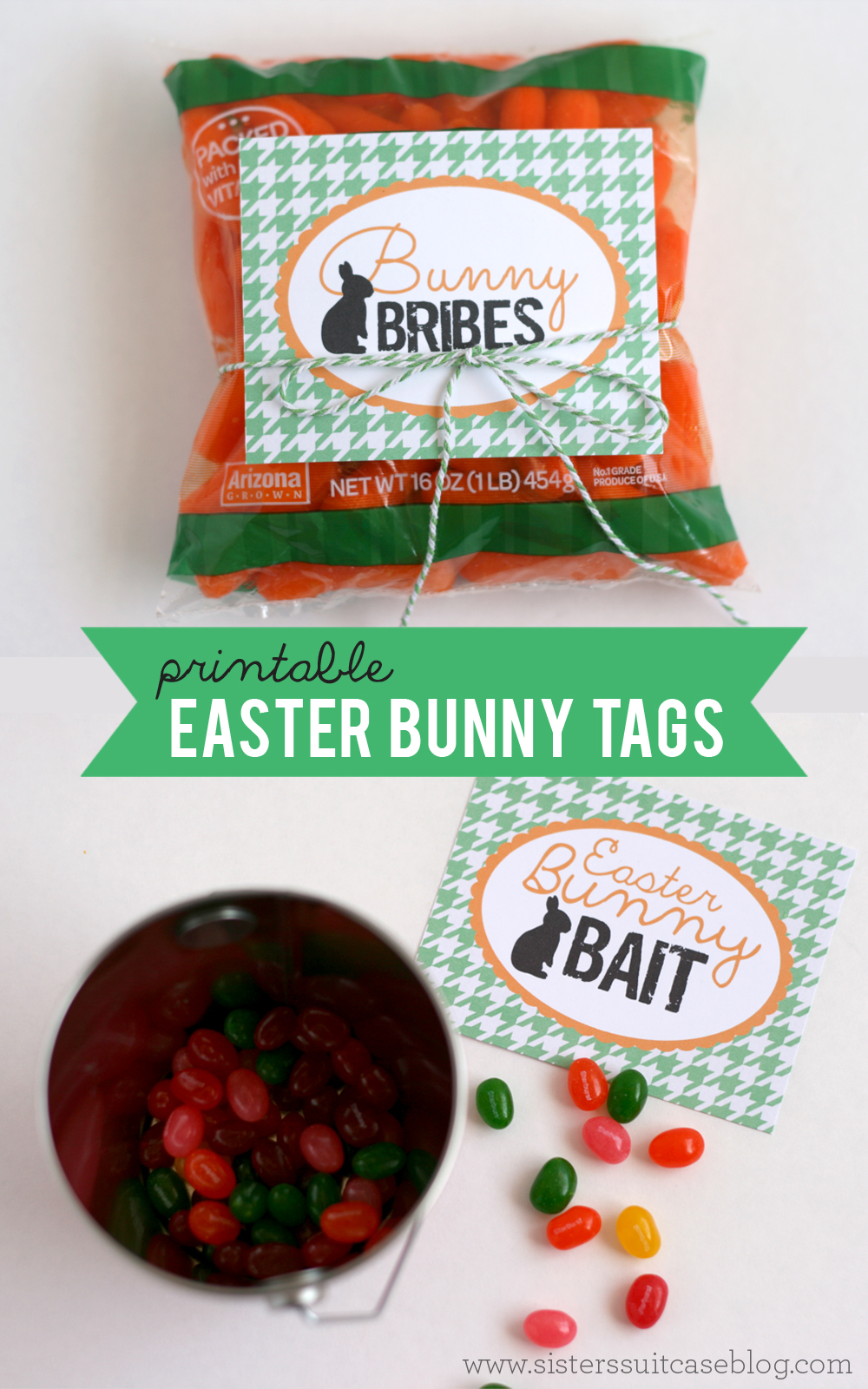 image about Bunny Bait Printable identify Printable Easter Tags for the Bunny! - My Sisters