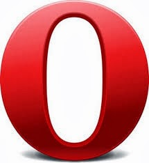 الشعار الرسمي لمتصفح اوبرا
