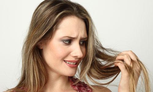 cabelo caindo na raiz